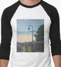 St Kilda Beach Men's Baseball ¾ T-Shirt