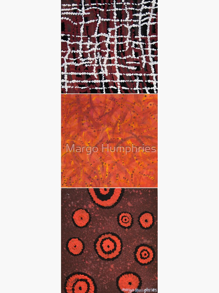 Orangeshed triptych part a, b & c by kasarnDesigns
