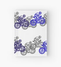 Bike Race Hardcover Journal