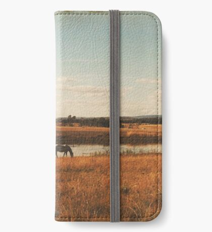 Vintage Horses iPhone Wallet