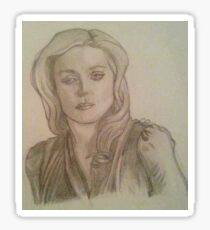 Bedelia du Maurier Traditional Drawing Sticker