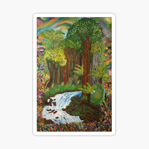 Rainforest - vivid Sticker