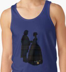 Outlander/Plaid silhouettes Men's Tank Top