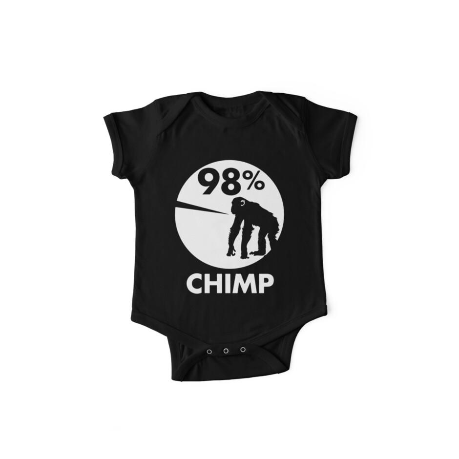 98 Prozent Schimpanse von keren05brand
