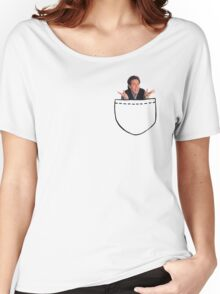 Seinfeld in pocket Women's Relaxed Fit T-Shirt
