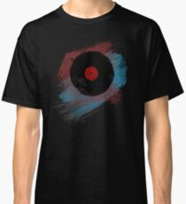 Vinyl Record - Modern Vinyl Records Grunge Design - Tshirt and more Classic T-Shirt