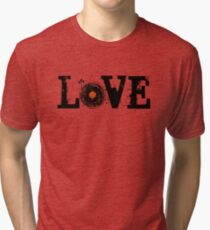 Love Vinyl Records Tri-blend T-Shirt