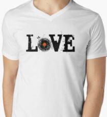 Love Vinyl Records Men's V-Neck T-Shirt