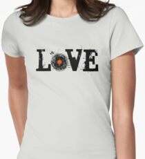 Love Vinyl Records Women's Fitted T-Shirt