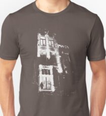The door is open and the lights are on...  Unisex T-Shirt