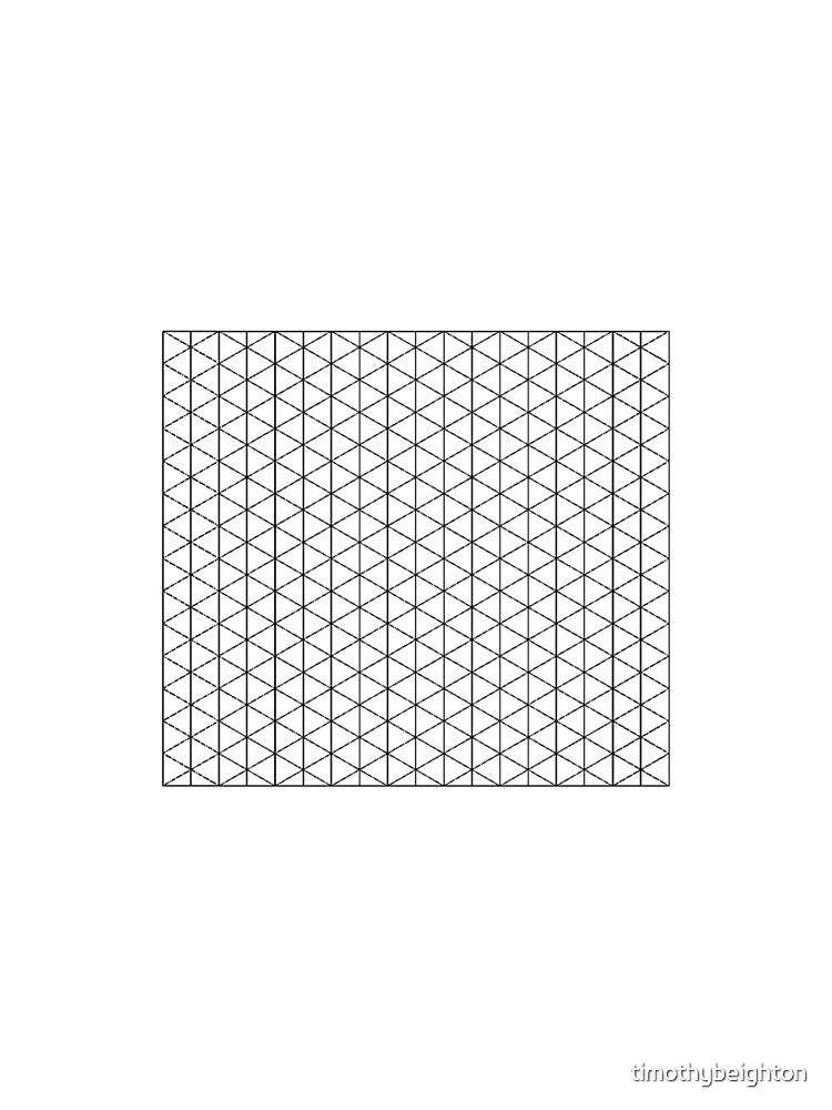 Isometric Grid. by timothybeighton