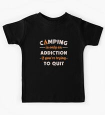 Camping Addiction Kids Tee