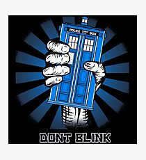 Don't Blink - Doctor Who Photographic Print