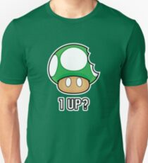 Super Mario, 1 UP Mushroom Unisex T-Shirt
