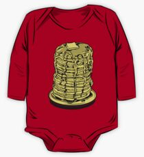 Tower Of Pancakes One Piece - Long Sleeve