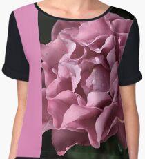 Frilly Rose Women's Chiffon Top