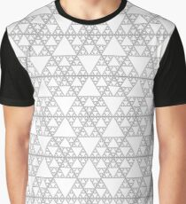 Sierpinski fractal triangle Graphic T-Shirt