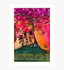 Let's Play Music Art Print