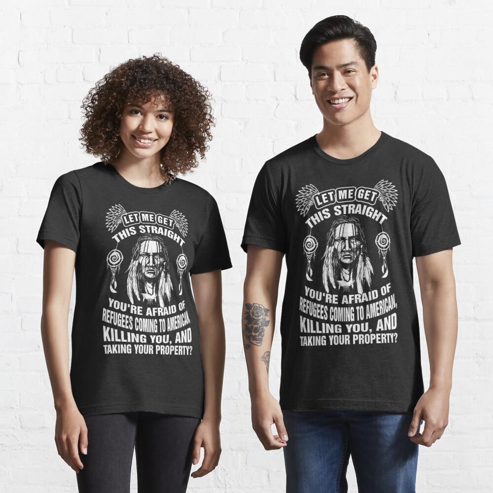 T-shirt essentiel «Américain de naissance»