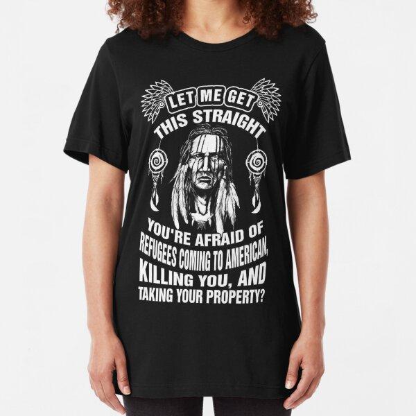 Native American Slim Fit T-Shirt