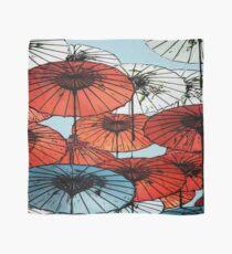 Umbrellas Asian Style Scarf