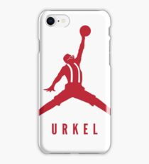 Steve Urkel Jumpman Logo Spoof 2 iPhone Case/Skin