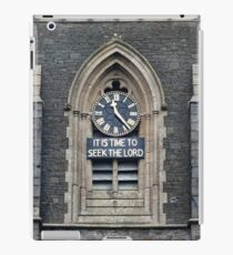11:23. Its Time to Seek the Lord iPad Case/Skin