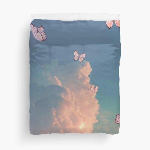 Angelic Butterflies Duvet Cover