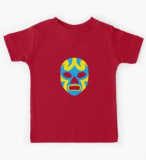 Mexican Wrestling Mask, Luchador Kids Tee