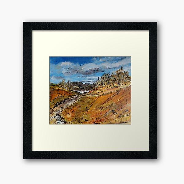 Towards the Tarn Framed Art Print