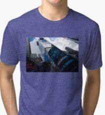 Neon Lights and Ads - Times Square, Manhattan, New York City, USA Tri-blend T-Shirt