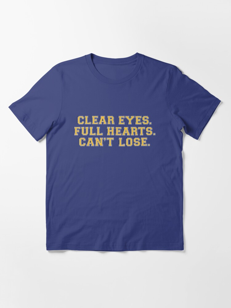 Alternate view of Clear eyes, full hearts, can't lose Essential T-Shirt