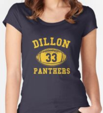 Dillon Panthers Team Women's Fitted Scoop T-Shirt