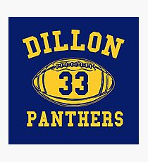 Dillon Panthers Team Photographic Print