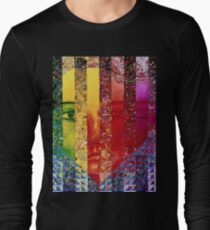 Conundrum I - Rainbow Woman Long Sleeve T-Shirt