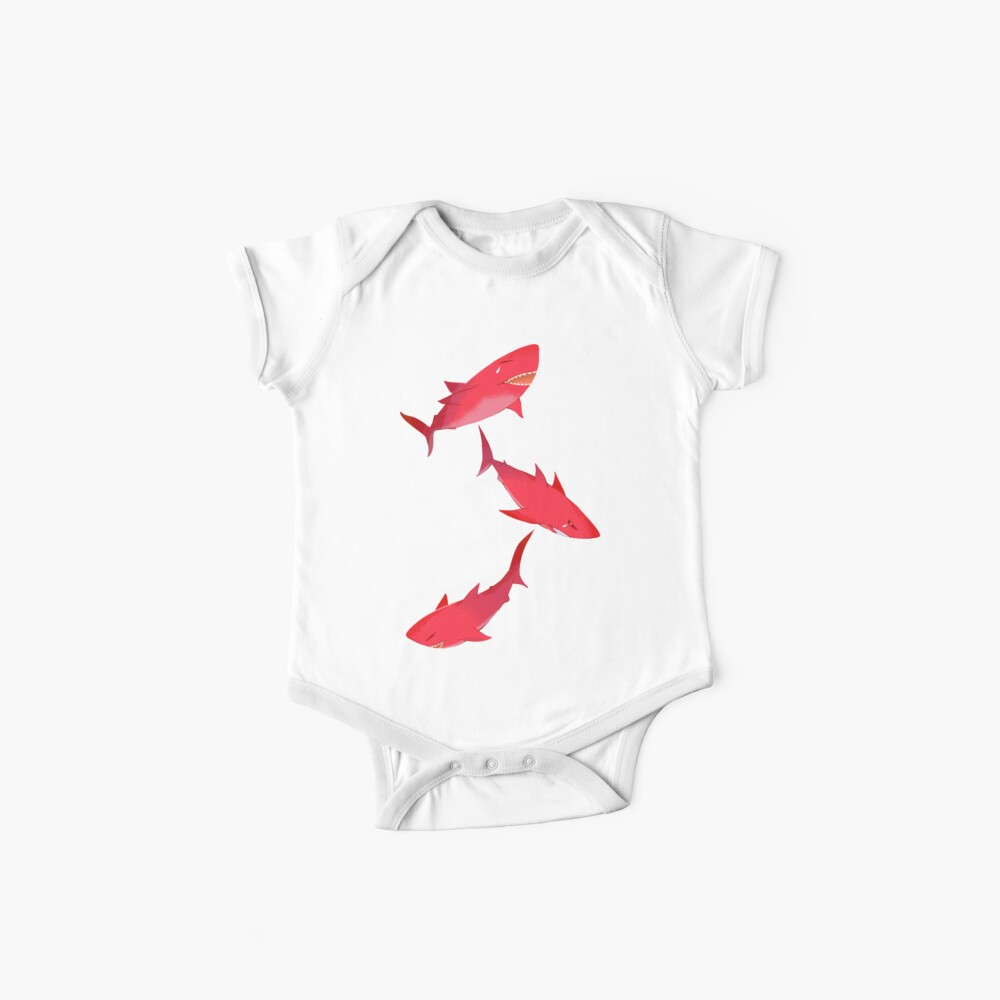 Sakura Shark Baby One-Pieces