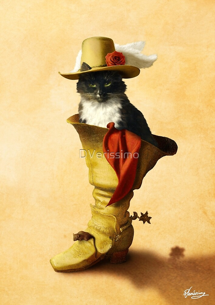 Little Puss in Boots by DVerissimo