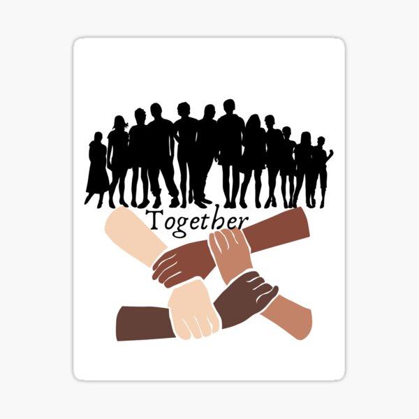 Together Sticker  Sticker