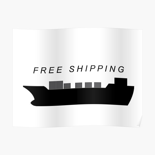 free shipping Poster