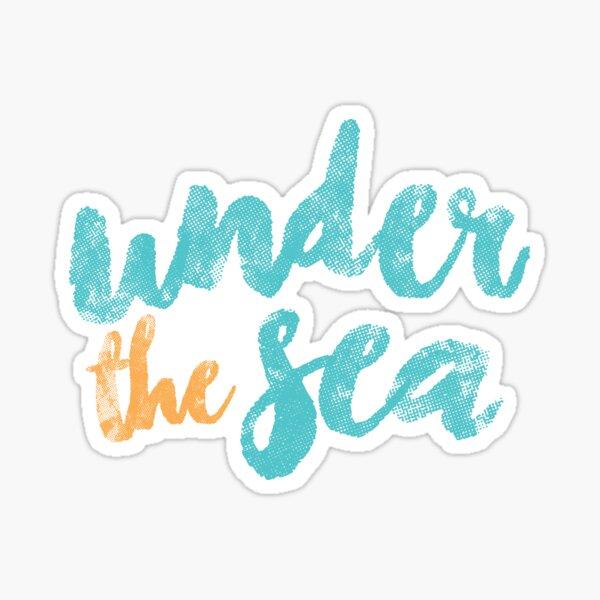 Bajo el mar Pegatina
