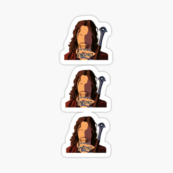 You have my Sword - Sticker Pack Sticker