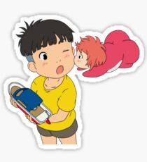 Sweet Ponyo Kiss Sticker