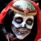 Skull Faced Woman by SuddenJim