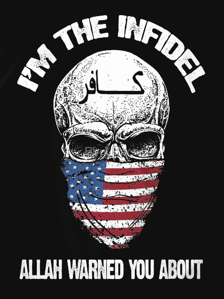 Image result for i am the infidel allah warned you about