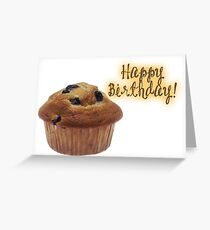 Happy Birthday - Cupcake Greeting Card