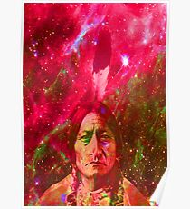Ghost of Sitting Bull Poster