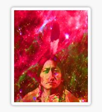 Ghost of Sitting Bull Sticker