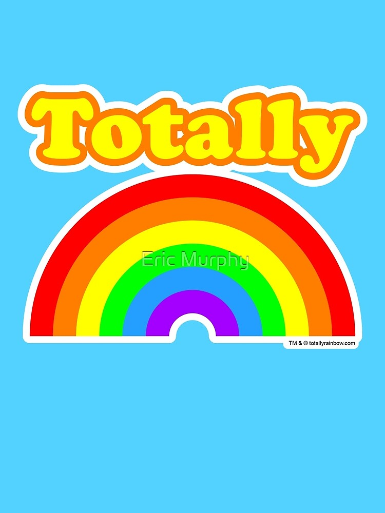 Totally Rainbow Logo by Eric Murphy