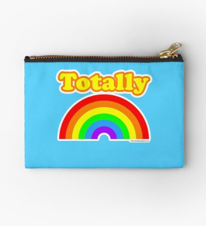 Totally Rainbow Logo Studio Pouch