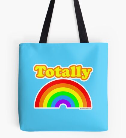 Totally Rainbow Logo Tote Bag